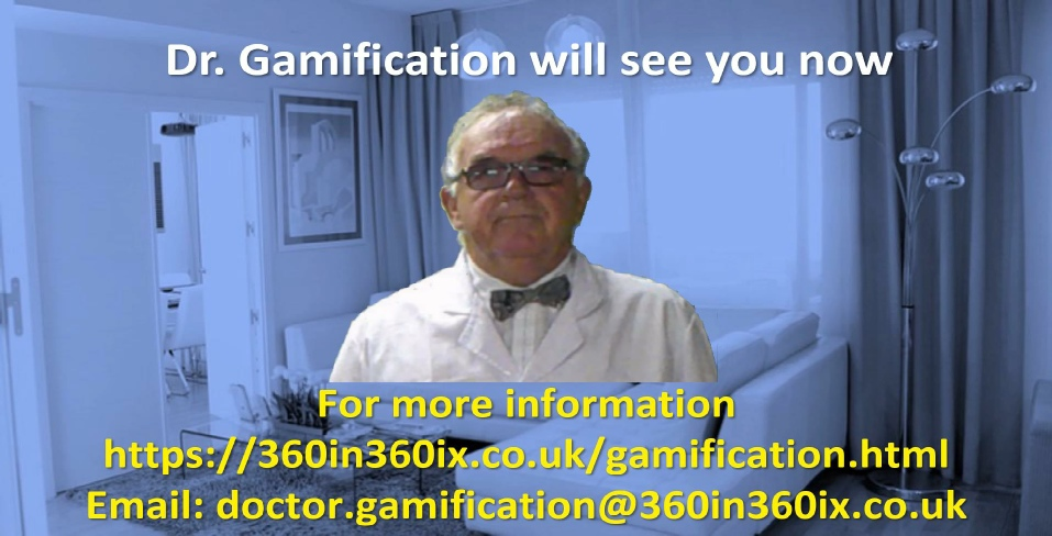 Doctor Gamification's Gamified Immersive Learning Clinic - Click here to watch the Introductory Video